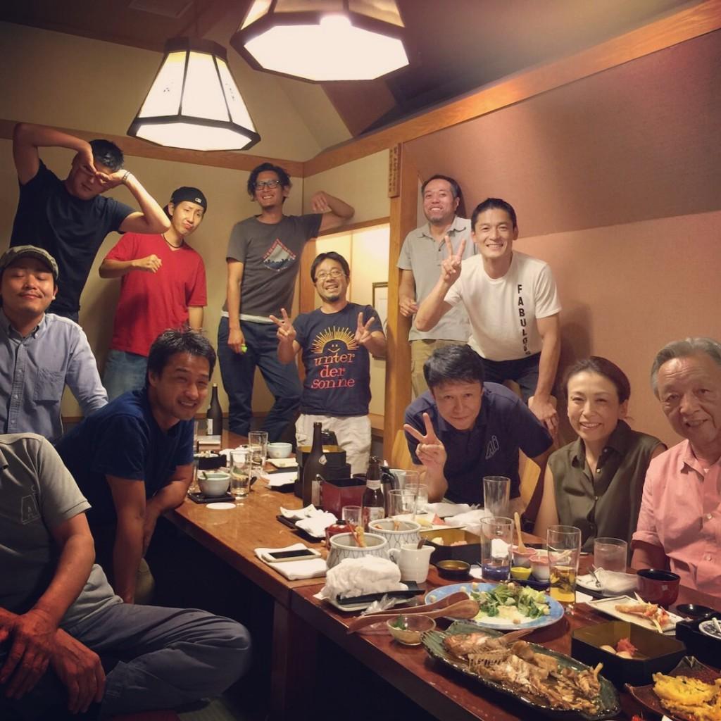 40周年記念食事会01